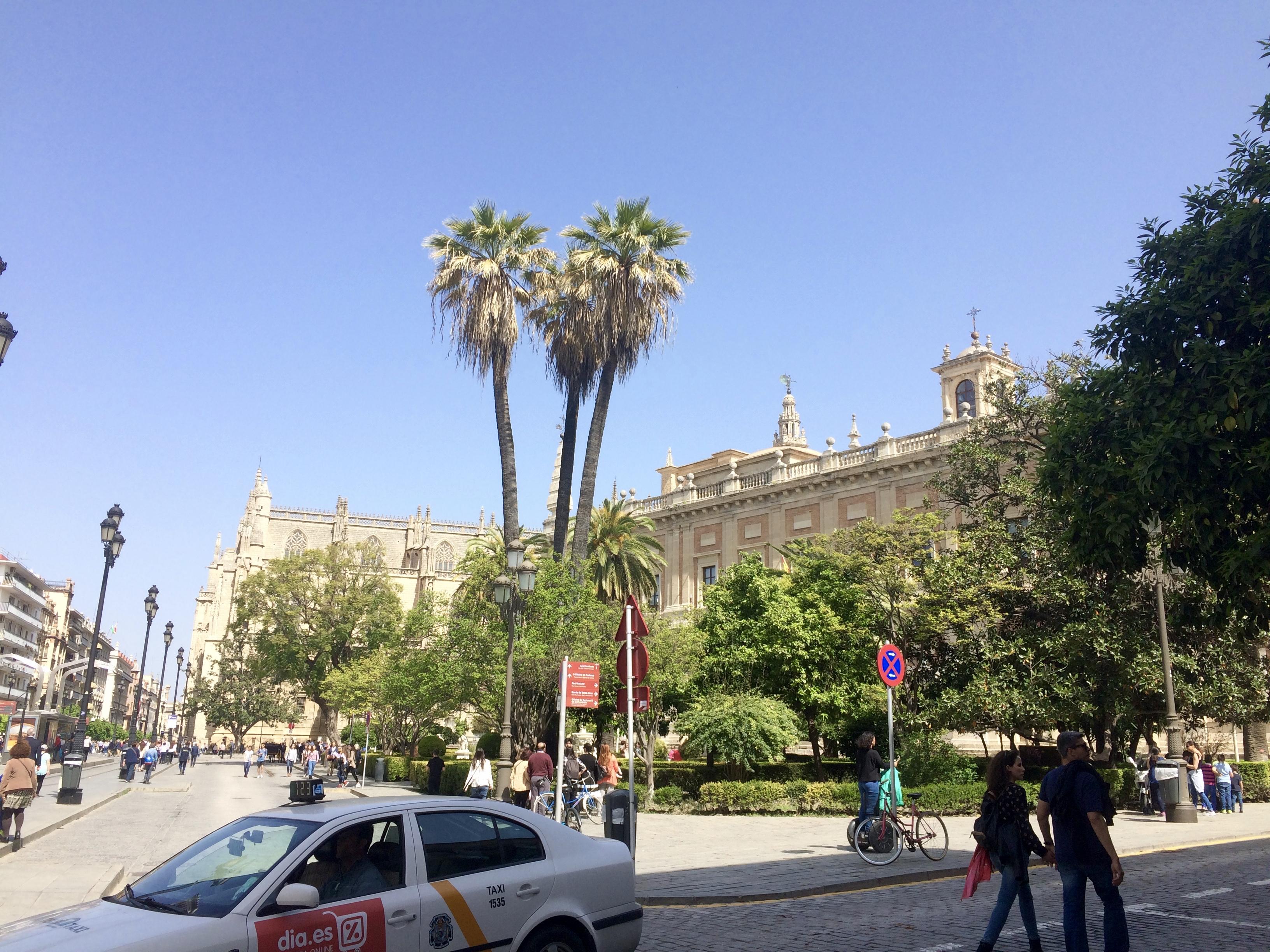 El Archivo de Indias y la Catedral