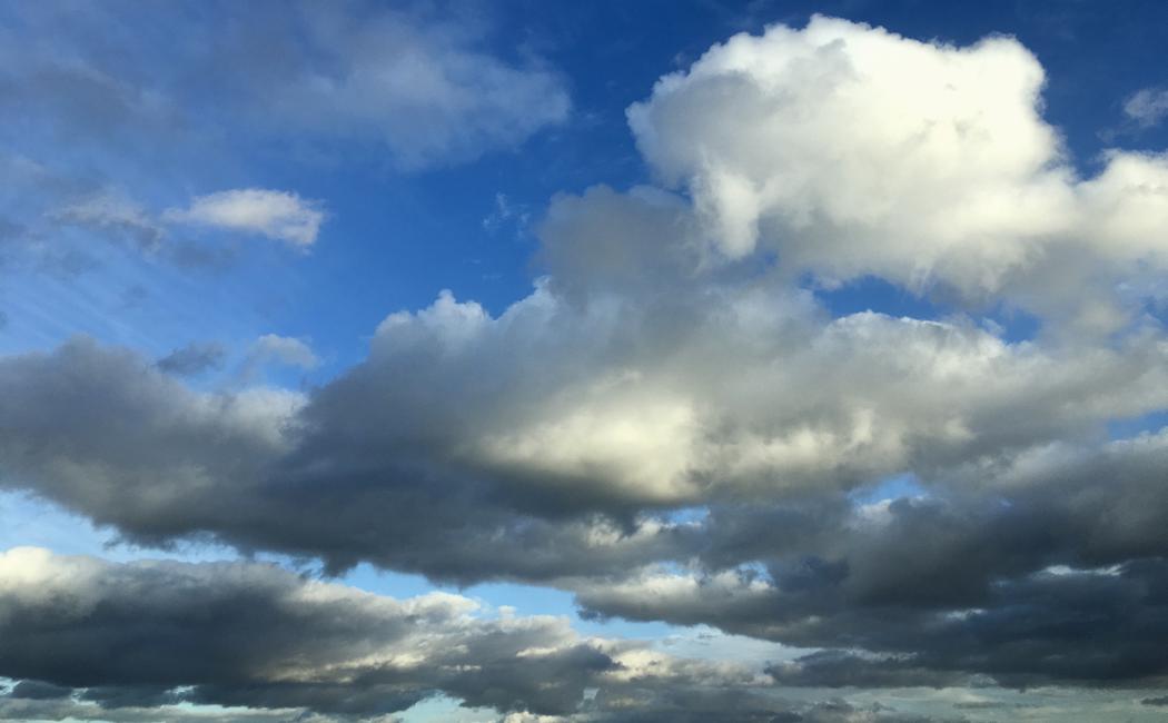 Las nubes enfadadas