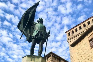 Cabecera Segovia en vertical
